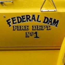 Federal Dam Fire Truck Door 270x250